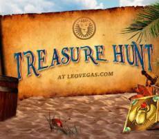 Treasure Hunt bij LeoVegas