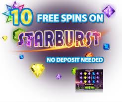 gratis spins op starburst