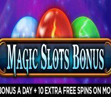 magic slots bonus