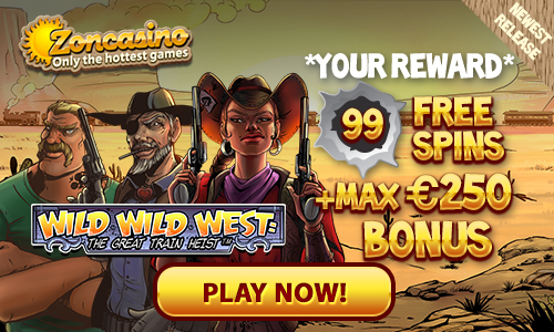 Zon Casino gratis spins Wild Wild West